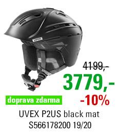 UVEX P2US black mat S566178200 19/20