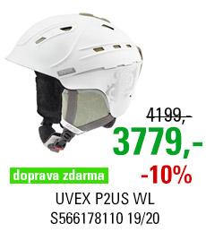 UVEX P2US WL white-prosecco mat S566178110 19/20