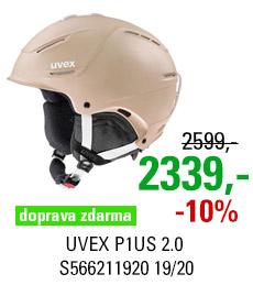 UVEX P1US 2.0 prosecco met mat S566211920 19/20