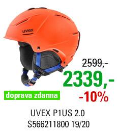 UVEX P1US 2.0 orange-blue mat S566211800 19/20
