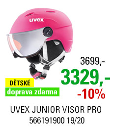 UVEX JUNIOR VISOR PRO pink mat S566191900 19/20