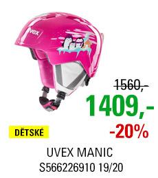 UVEX MANIC pink penguin S566226910 19/20