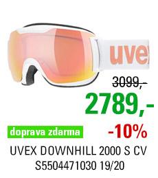 UVEX DOWNHILL 2000 S CV white/mir rose colorvision orange S5504471030 19/20