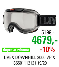 UVEX DOWNHILL 2000 VP X black mat/vp smoke S5501112121 19/20