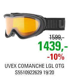UVEX COMANCHE LGL OTG black mat/lgl clear S5510922629 19/20
