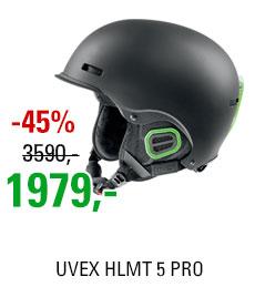 UVEX HLMT 5 PRO black-green mat S566146270 16/17