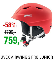 UVEX AIRWING 2 PRO red mat S566132300 16/17
