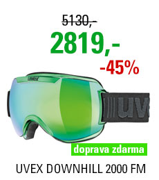 UVEX DOWNHILL 2000 FM CHROME green chrome S5501127126 17/18