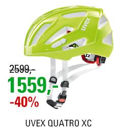 UVEX HELMA QUATRO XC, NEON LIME
