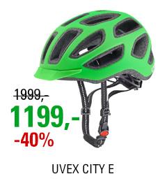 UVEX CITY E, NEON GREEN MAT