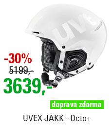 UVEX JAKK+ Octo+ white mat shiny S566182110 19/20