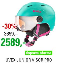 UVEX JUNIOR VISOR PRO mint mat S566191700 19/20