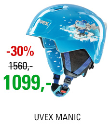 UVEX MANIC blue snow dog S566226400 18/19
