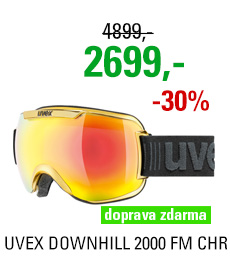 UVEX DOWNHILL 2000 FM CHROME yellow chrome S5501126026 18/19