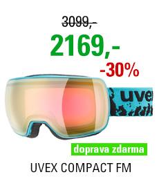 UVEX COMPACT FM petrol mat dl/mirror pink rose S5501307030 18/19