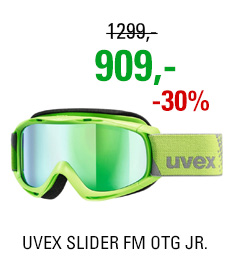 UVEX SLIDER FM OTG lightgreen dl/mir green lgl S5500267030 19/20