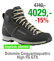 Dolomite Cinquantaquattro High FG GTX® Black