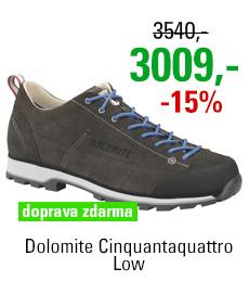 Dolomite Cinquantaquattro Low Anthracite/Blue
