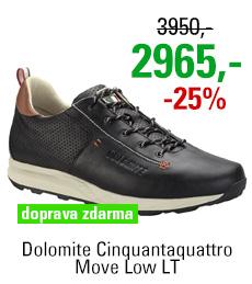 Dolomite Cinquantaquattro Move Low LT Black