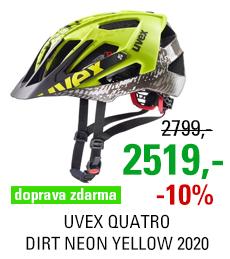 UVEX QUATRO, DIRT NEON YELLOW 2020