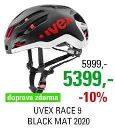 UVEX RACE 9, BLACK MAT 2020