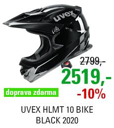 UVEX HLMT 10 BIKE, BLACK 2020
