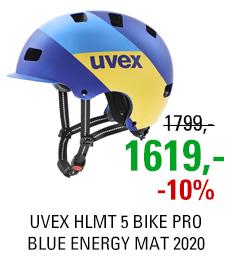 UVEX HLMT 5 BIKE PRO, BLUE ENERGY MAT 2020