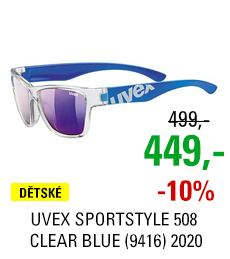UVEX SPORTSTYLE 508 CLEAR BLUE (9416) 2020