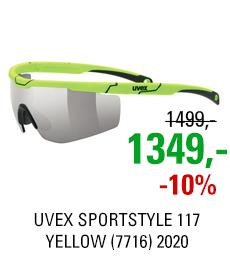 UVEX SPORTSTYLE 117, YELLOW (7716) 2020