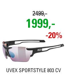 UVEX SPORTSTYLE 803 CV, BLACK MAT (2296) 2020
