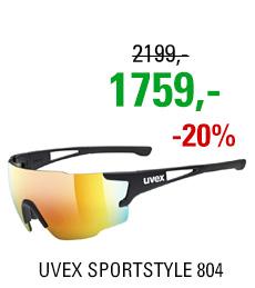 UVEX SPORTSTYLE 804, BLACK (2216) 2020