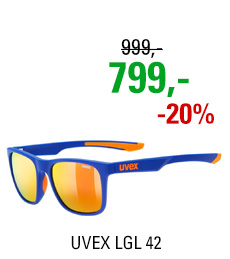 UVEX LGL 42, BLUE ORANGE MAT (4316) 2020