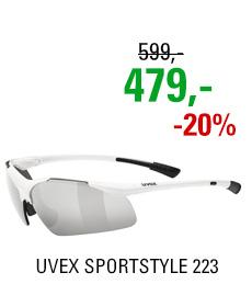 UVEX SPORTSTYLE 223, WHITE (8816) 2020