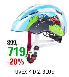 UVEX KID 2, BLUE 2020