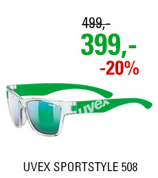 UVEX SPORTSTYLE 508 CLEAR GREEN (9716) 2020