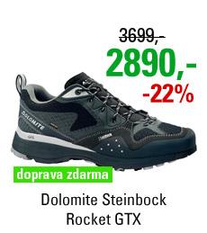 Dolomite Steinbock Rocket GTX Silver/Black