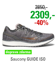 Saucony GUIDE ISO Grey/Denim/Copper