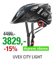 UVEX CITY LIGHT, ANTHRACITE MAT 2020