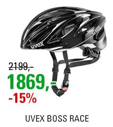UVEX BOSS RACE, BLACK 2020