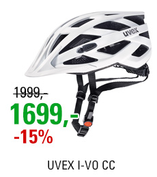 UVEX I-VO CC, WHITE MAT 2020