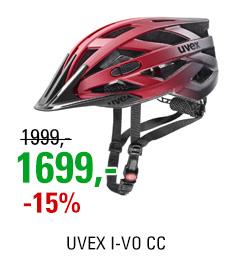 UVEX I-VO CC, RED BLACK MAT 2020