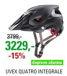 UVEX QUATRO INTEGRALE, BLACK MAT 2020