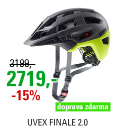 UVEX FINALE 2.0, GREY YELLOW MAT 2020