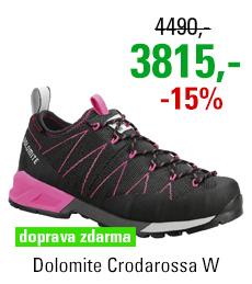 Dolomite Crodarossa Black/Fluo Pink