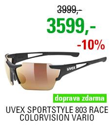 UVEX SPORTSTYLE 803 RACE CV VM, BLACK MAT (2206) 2020