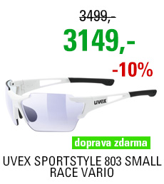 UVEX SPORTSTYLE 803 SMALL RACE VM, WHITE (8803) 2020