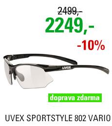 UVEX SPORTSTYLE 802 VARIO, BLACK (2201) 2020