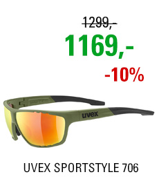 UVEX SPORTSTYLE 706, OLIVE GREEN (7716) 2020