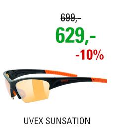UVEX SUNSATION, BLACK ORANGE (2212) 2020