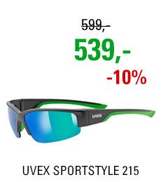 UVEX SPORTSTYLE 215 BLACK MAT GREEN (2716) 2020